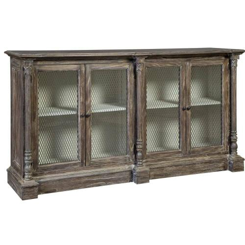 2-8194 Buffet with Wire Doors