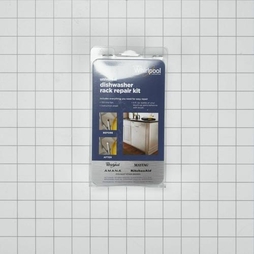 Dishwasher Rack Repair Kit, White - Other