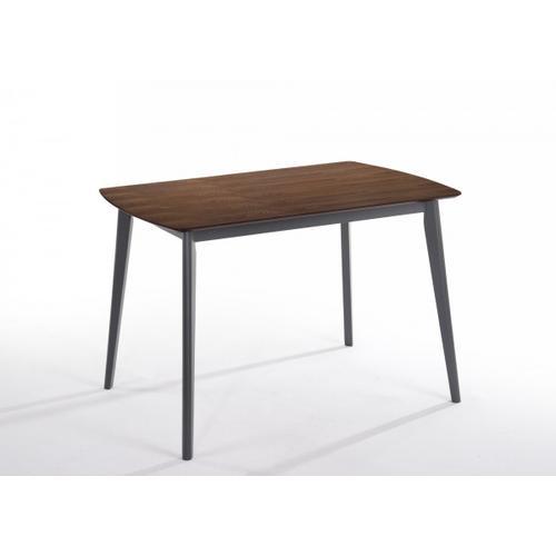VIG Furniture - Modrest Lillian - Modern Walnut Dining Table