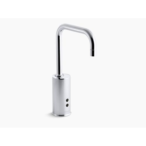 Polished Chrome Touchless Faucet With Insight Technology, Hybrid-powered