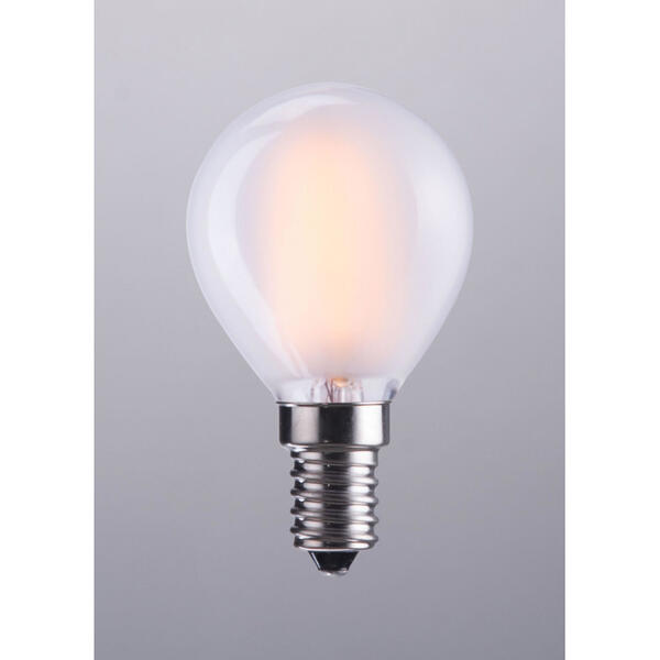 E12 G45 4w Led 80 X 45 Mm Frosted White