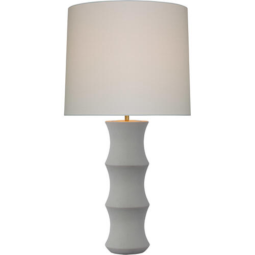 AERIN Marella 37 inch 15.00 watt Porous White Table Lamp Portable Light, Large
