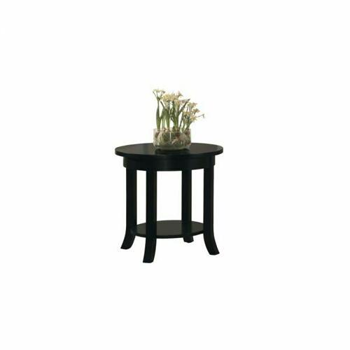 ACME Gardena End Table - 08001B - Black