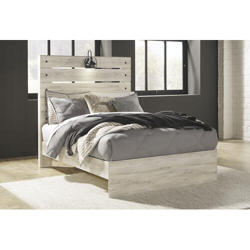 Cambeck - Whitewash 3 Piece Bed (Full)
