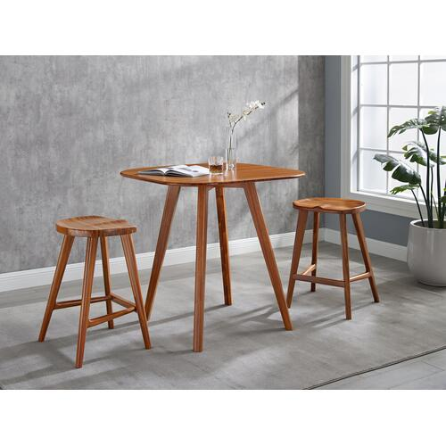 """Greenington Fine Bamboo Furniture - Cosmos 36"""" Counter Height Table Amber"""