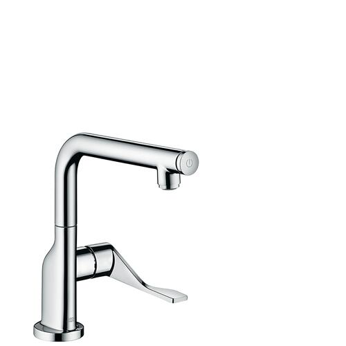 Brushed Bronze Single lever kitchen mixer Select 230 with swivel spout