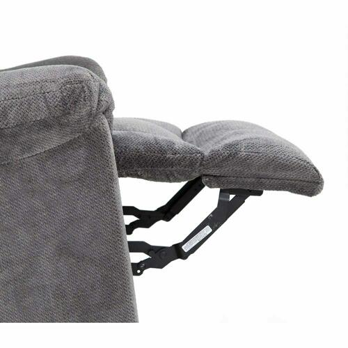 4703 Connery Fabric Recliner-Slate