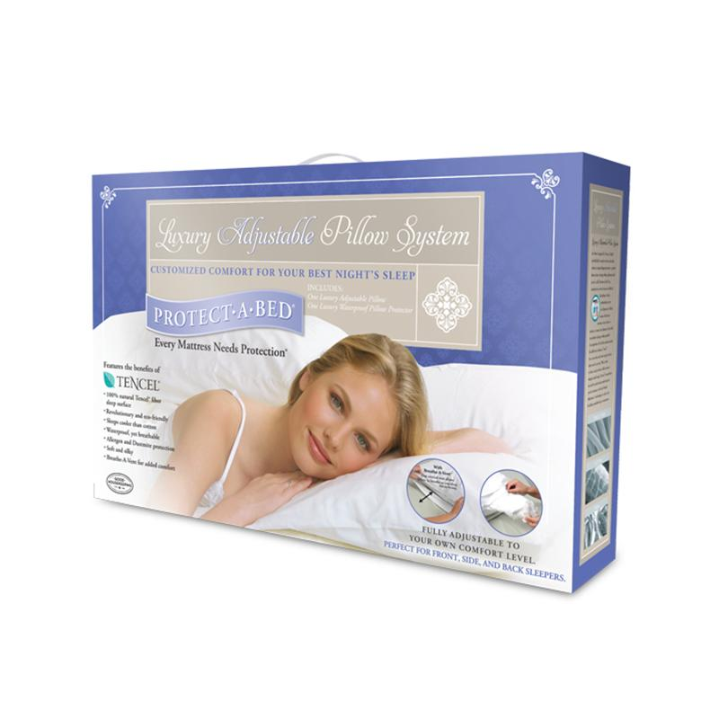 Luxury Adjustable Pillow System