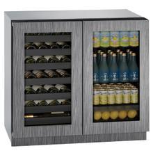 """See Details - 3036bvwc 36"""" Beverage Center With Integrated Frame Finish (115 V/60 Hz Volts /60 Hz Hz)"""
