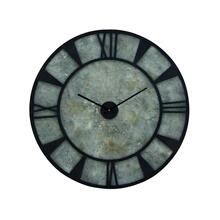 "MTL WD WALL CLOCK 35""D"
