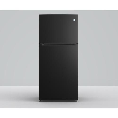 Element - Element 18 cu. ft. Top Mount Refrigerator (Black)