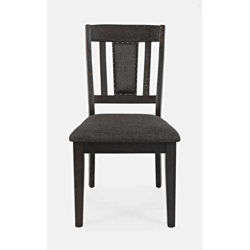 American Rustics Uph Slatback Chair (2/ctn)
