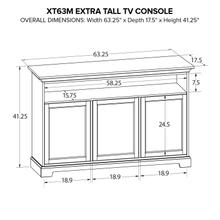 XT63M Extra Tall Custom TV Console