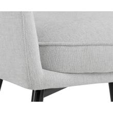 See Details - Baily Dining Armchair - fabric: hemingway marble