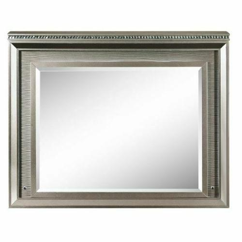 ACME Sadie Mirror w/LED - 27944 - Dark Champagne