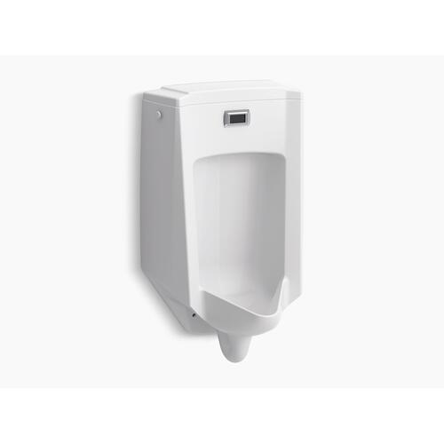 White Touchless Washdown Wall-mount 1/2 Gpf Urinal