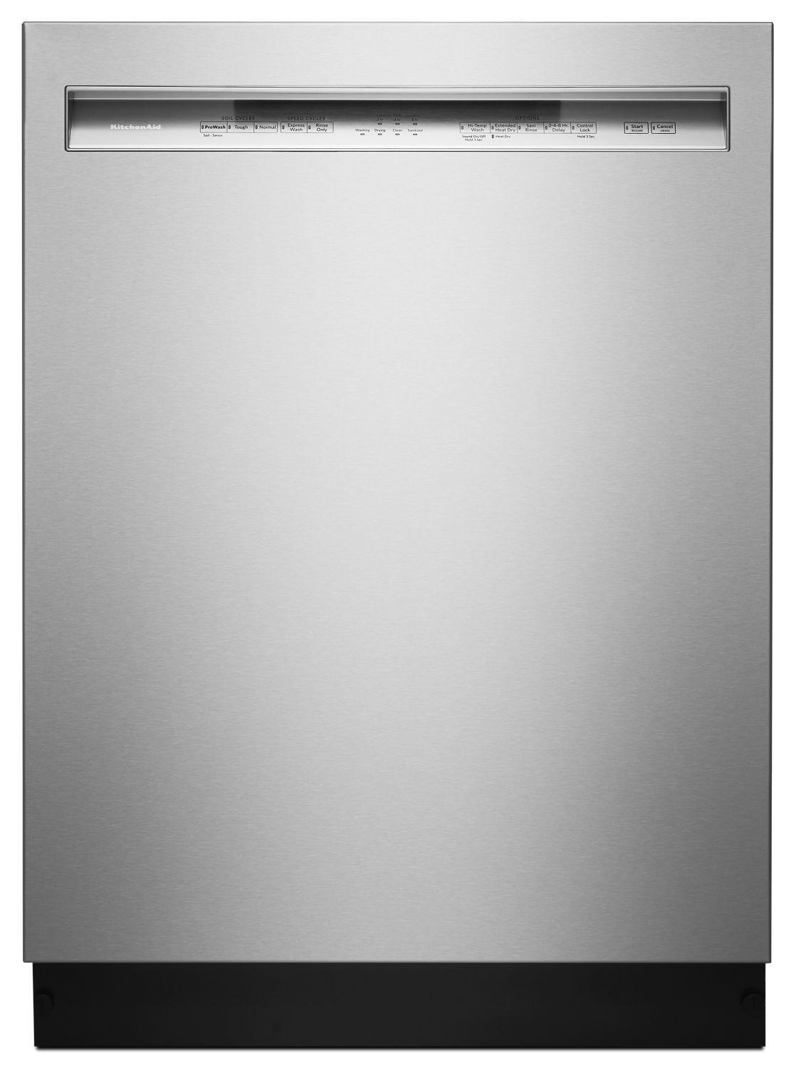 KitchenAid46 Dba Dishwasher With Prowash Cycle And Printshield Finish, Front Control Stainless Steel With Printshield™ Finish