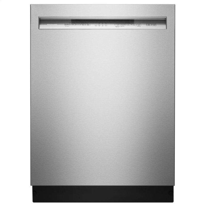 46 DBA Dishwasher with ProWash Cycle and PrintShield Finish, Front Control Stainless Steel with PrintShield™ Finish
