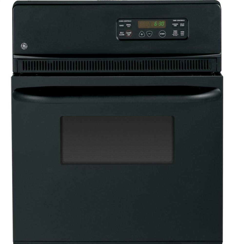 """GE®24"""" Electric Single Self-Cleaning Wall Oven"""
