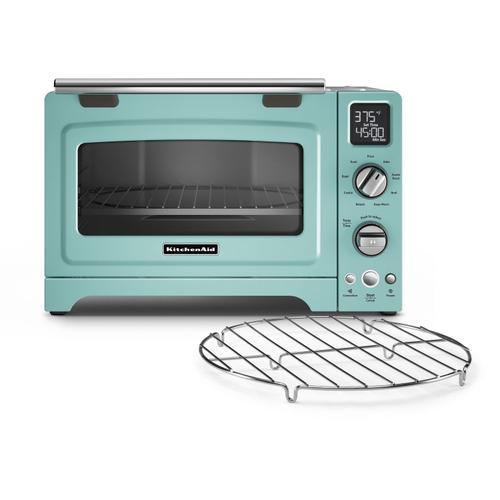 """KitchenAid - 12"""" Convection Digital Countertop Oven Aqua Sky"""