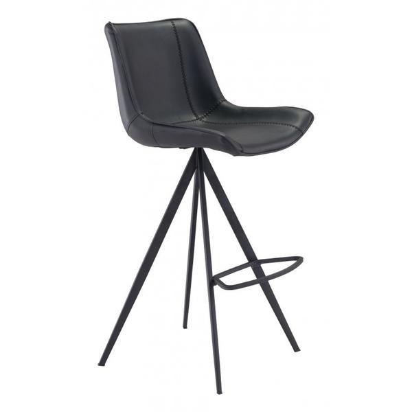 Aki Bar Chair Black