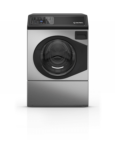 Gallery - Stainless Steel Right Hand Hinge Front Load Washer