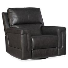 See Details - Gable Leather PWR Swivel Glider w/ PWR Headrest