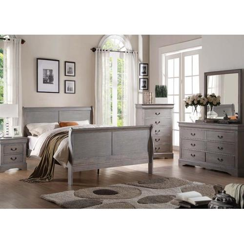 Acme Furniture Inc - L.P.III Gray Cal. King Bed