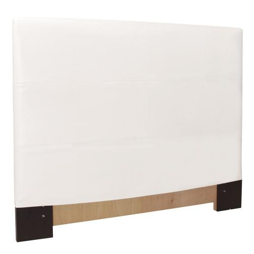 Twin Slipcovered Headboard Avanti White (Base and Cover Included)
