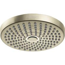 Polished Nickel Showerhead 180 2-Jet, 1.8 GPM
