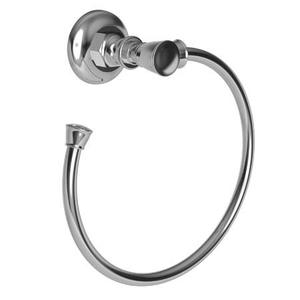 Polished Nickel Towel Ring - Open