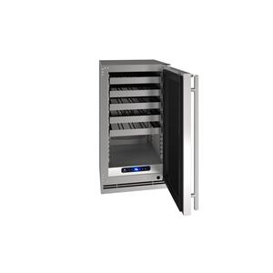 "U-Line18"" Wine Refrigerator With Stainless Solid Finish (115 V/60 Hz Volts /60 Hz Hz)"