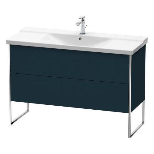 Product Image - Vanity Unit Floorstanding, Night Blue Satin Matte (lacquer)