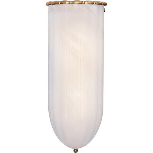 AERIN Rosehill 2 Light 6 inch Hand-Rubbed Antique Brass Linear Wall Light