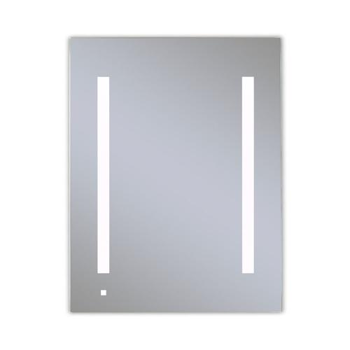 """Aio 23-1/4"""" X 30"""" X 4"""" Single Door Lighted Cabinet With Lum LED Lighting In Bright White (4000k), Dimmable, Interior Lighting, Electrical Outlet, Usb Charging Ports, Magnetic Storage Strip and Right Hinge"""