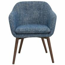 See Details - Minto Accent/Dining Chair in Blue Blend