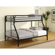 Morgan Twin-over-full Black Bunk Bed Product Image