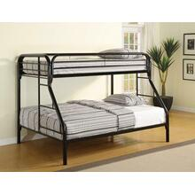 Morgan Twin-over-full Black Bunk Bed