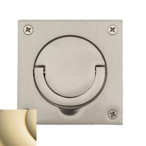 Lifetime Polished Brass Flush Ring Pull Product Image