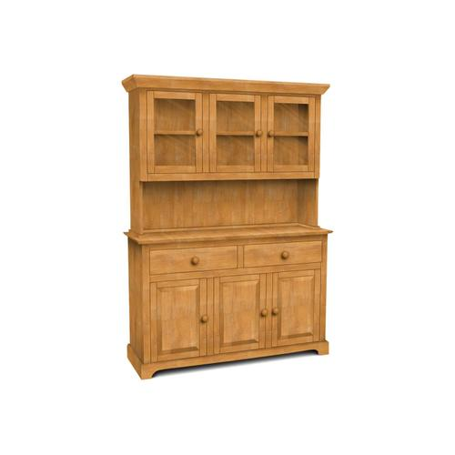 John Thomas Furniture - 3 Door Hutch (shown w/B-3 which is sold separately)
