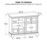 TS46K Custom TV Console Product Image