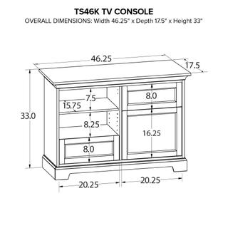 TS46K Custom TV Console