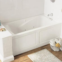 Evolution 60x32 inch Deep Soak Whirlpool - White