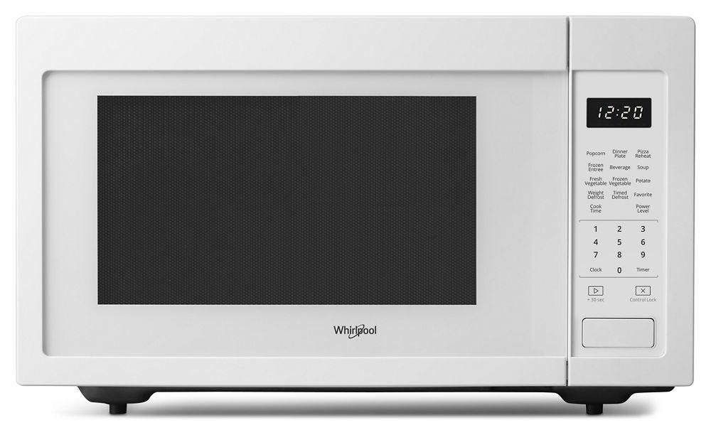 Wmc30516hw Whirlpool 1 6 Cu Ft Countertop Microwave With 1 200 Watt Cooking Power White Manuel Joseph Appliance Center
