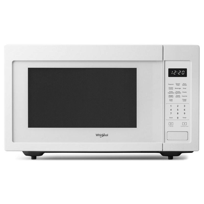 WHIRLPOOL 1.6CF MICROWAVE 1200W WHT - UNCRATED