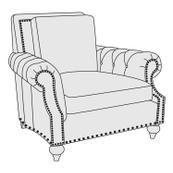 Nelson Chair in Molasses (780)