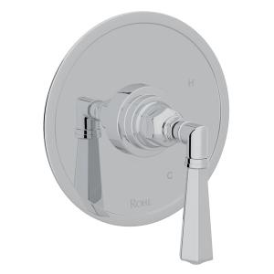 Polished Chrome San Giovanni Pressure Balance Trim Without Diverter with Metal Lever Product Image