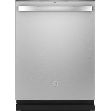 GE® Fingerprint Resistant Top Control with Stainless Steel Interior Dishwasher with Sanitize Cycle & Dry Boost with Fan Assist Product Image