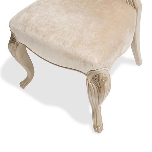 Platine De Royale Side Chair Champagne
