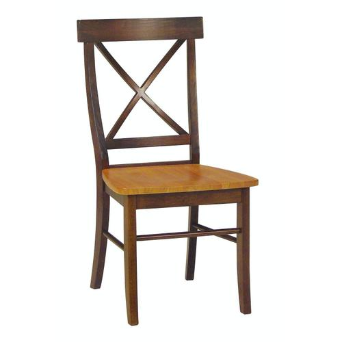 X-Back Chair in Cinnamon & Espresso